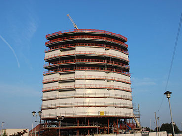 Concrete Steel Frame Building Encapsulation Liverpool