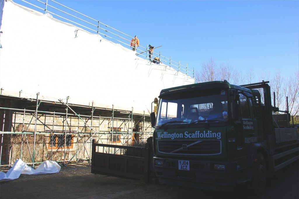 Scaffold Wrapping Scaffolders