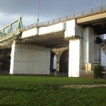 bridge shrink wrapped