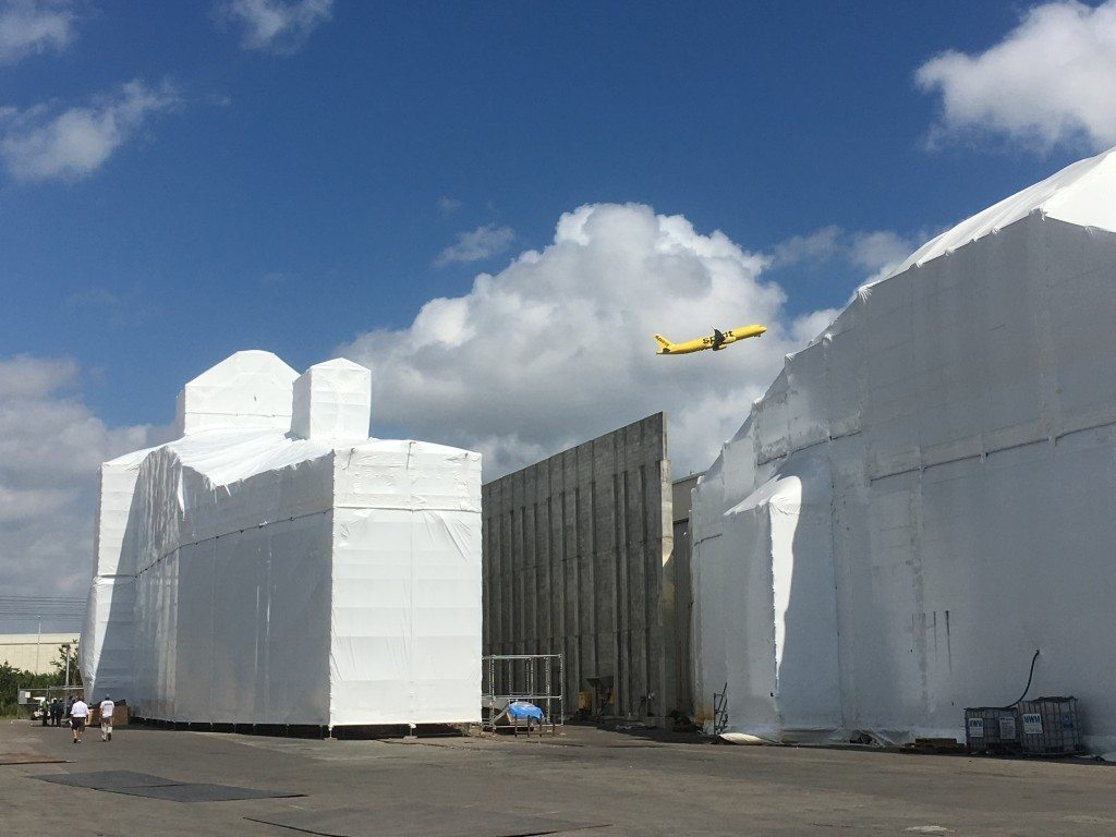 shrink wrap containment