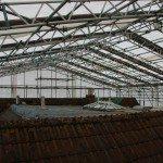 shrink wrap roof underneath
