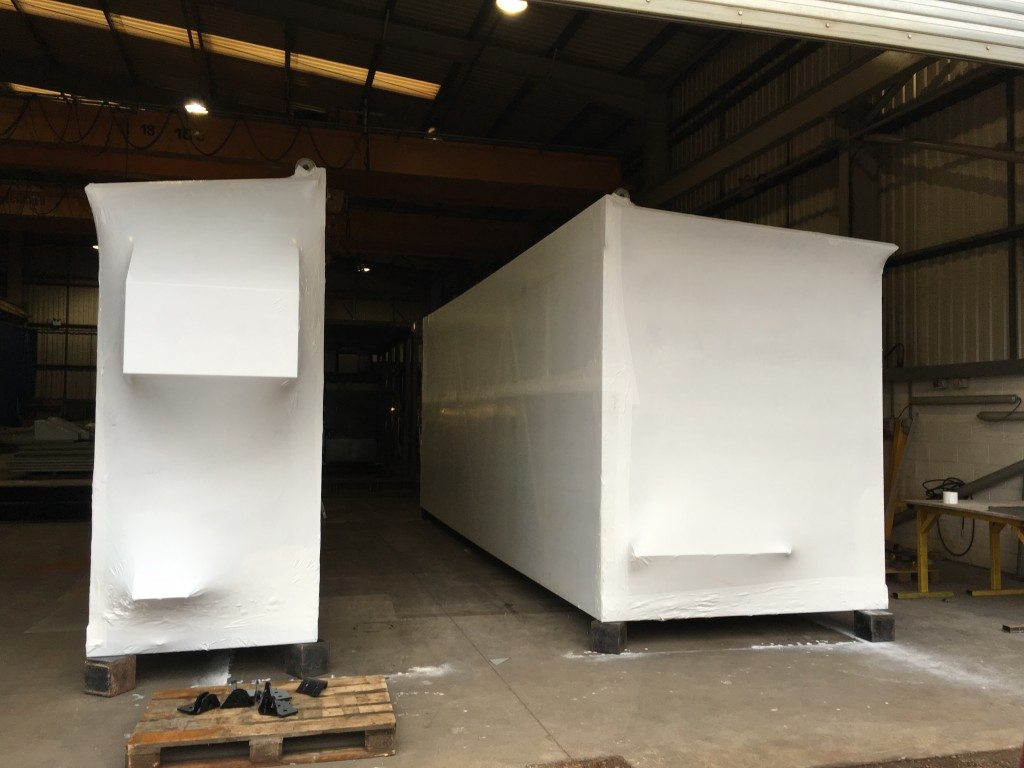 shrink wrapped modules