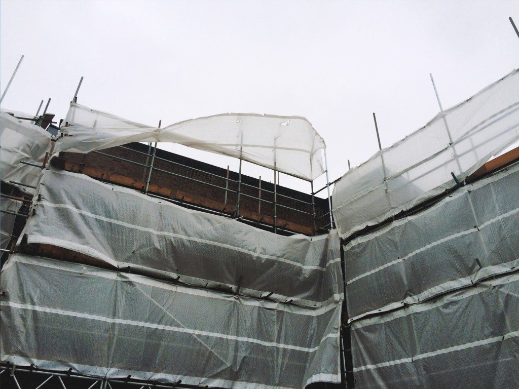 shrink wrapping for environmental containment