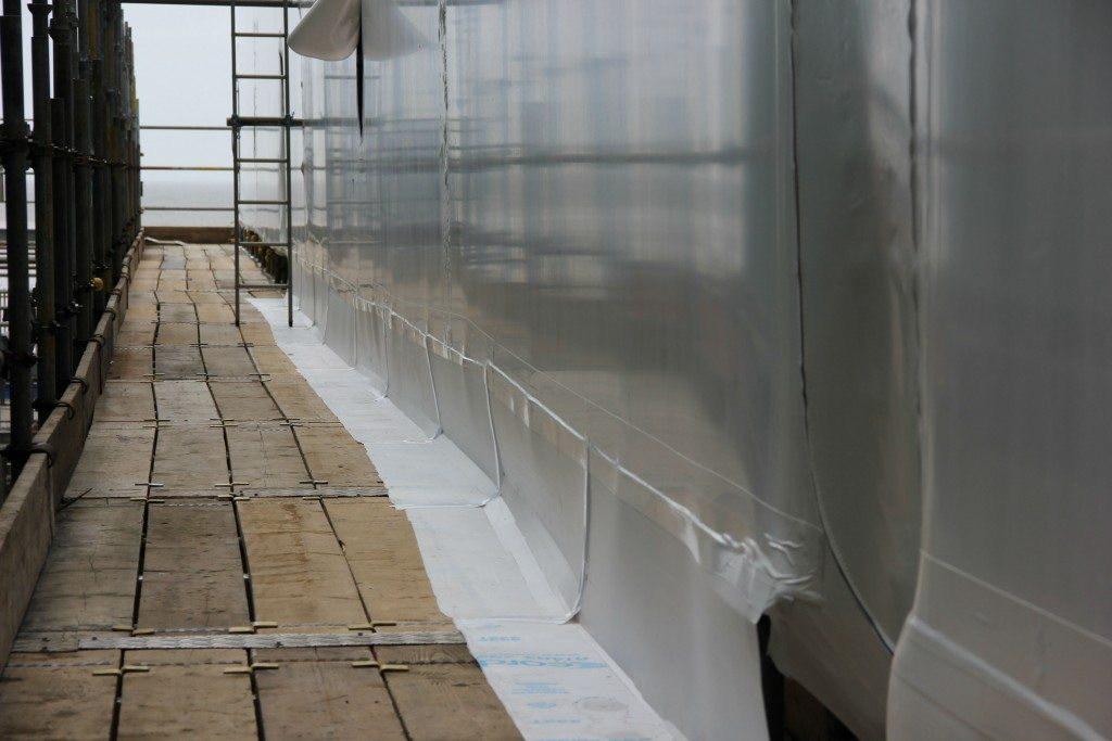 strong scaffold sheeting