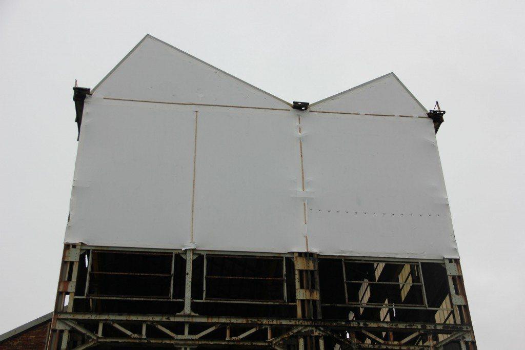 temporary building cladding
