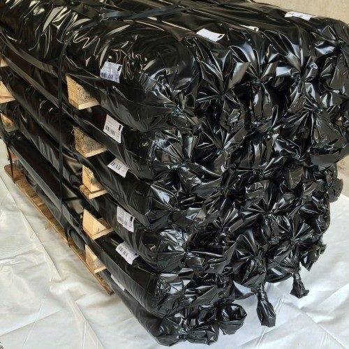 pallet of scaffold shrink wrap materials