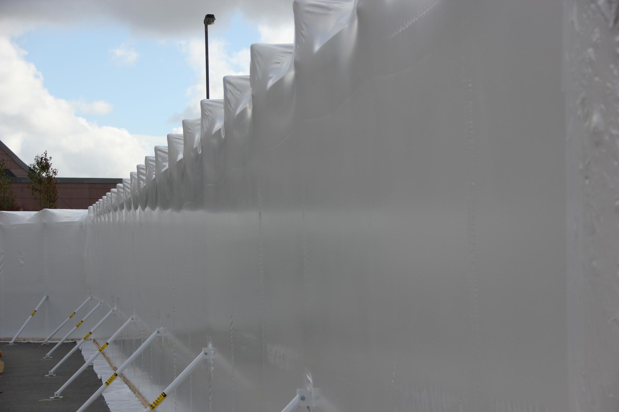 shrink wrap tunnel