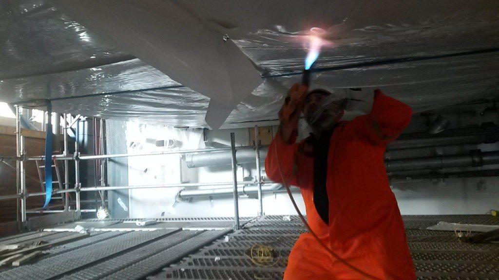 shrink wrapping heat gun