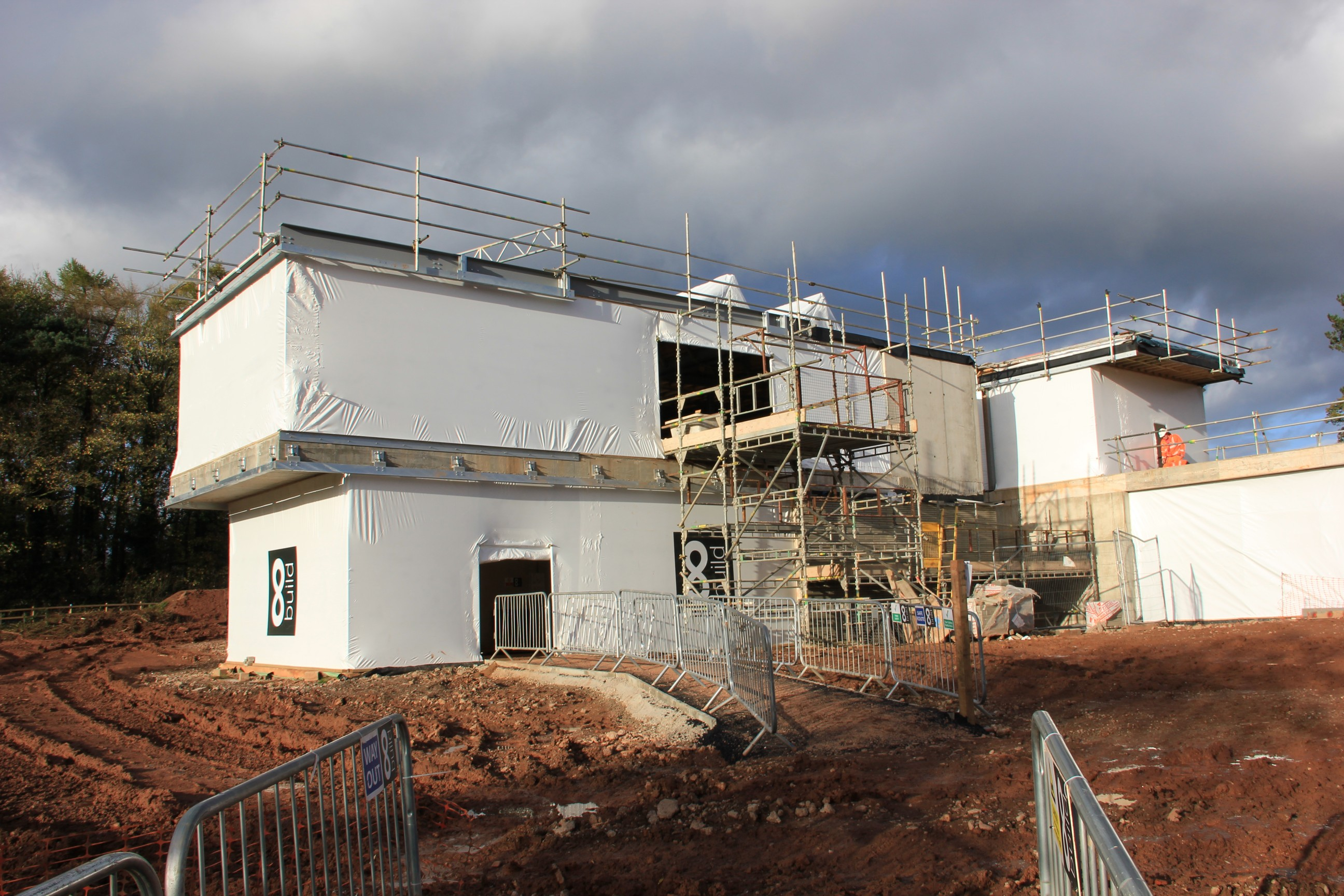 Concrete Frame Weather Protection 8 Build Staffordshire