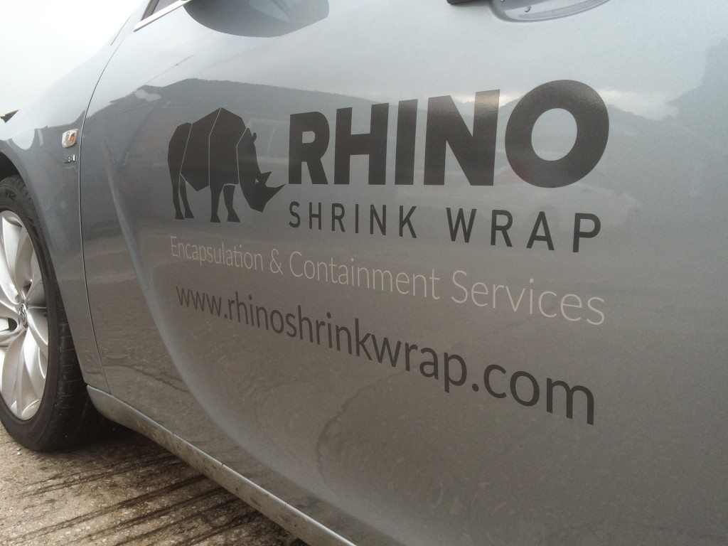 rhino shrink wrap vehicle