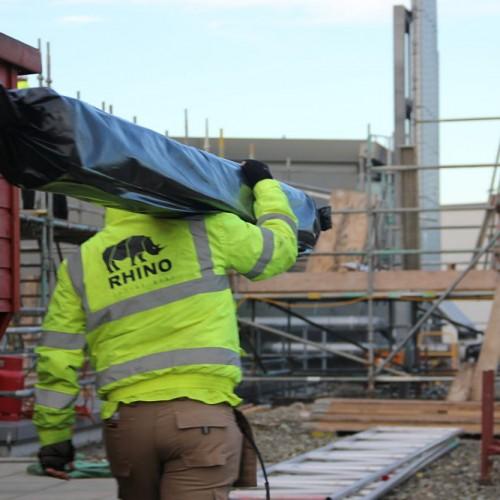 How many rolls of scaffold shrink wrap do i need