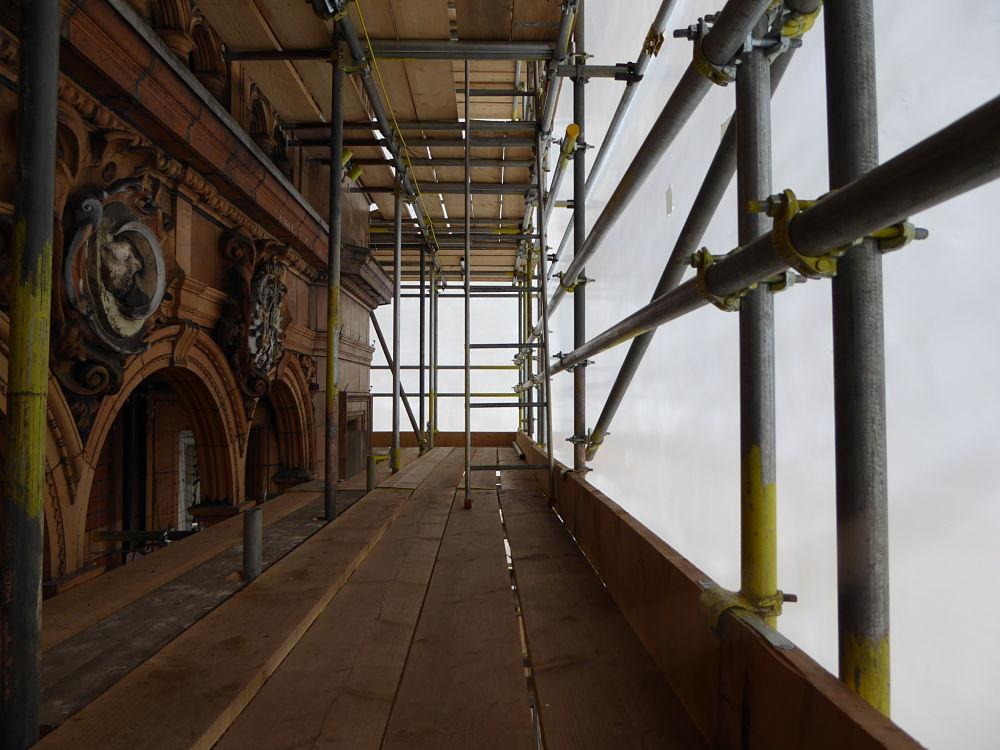 shrink wrap for scaffolding london inside